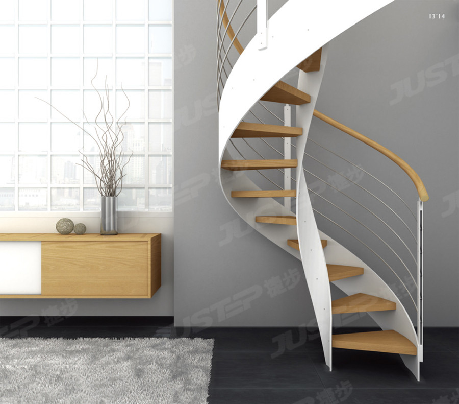 欧式风格旋转楼梯