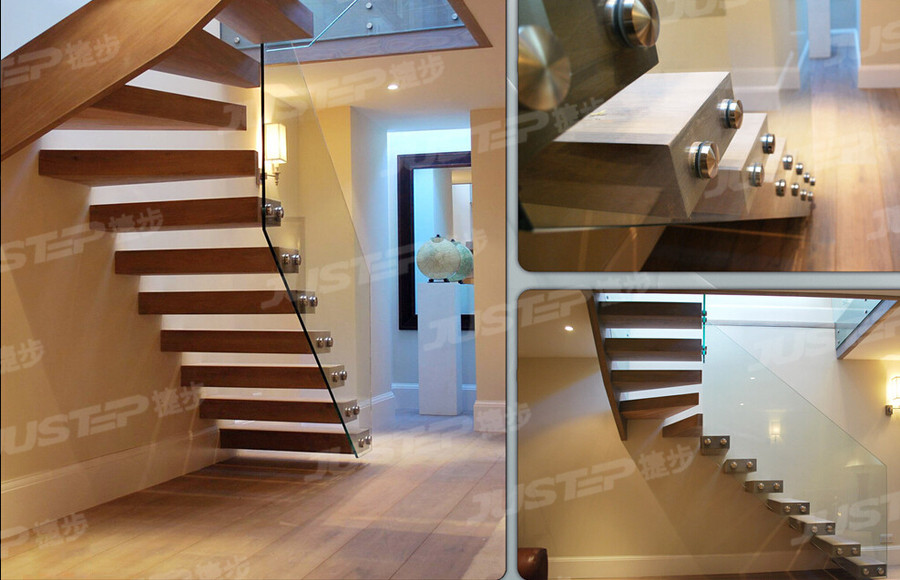 欧式弧形楼梯储物间