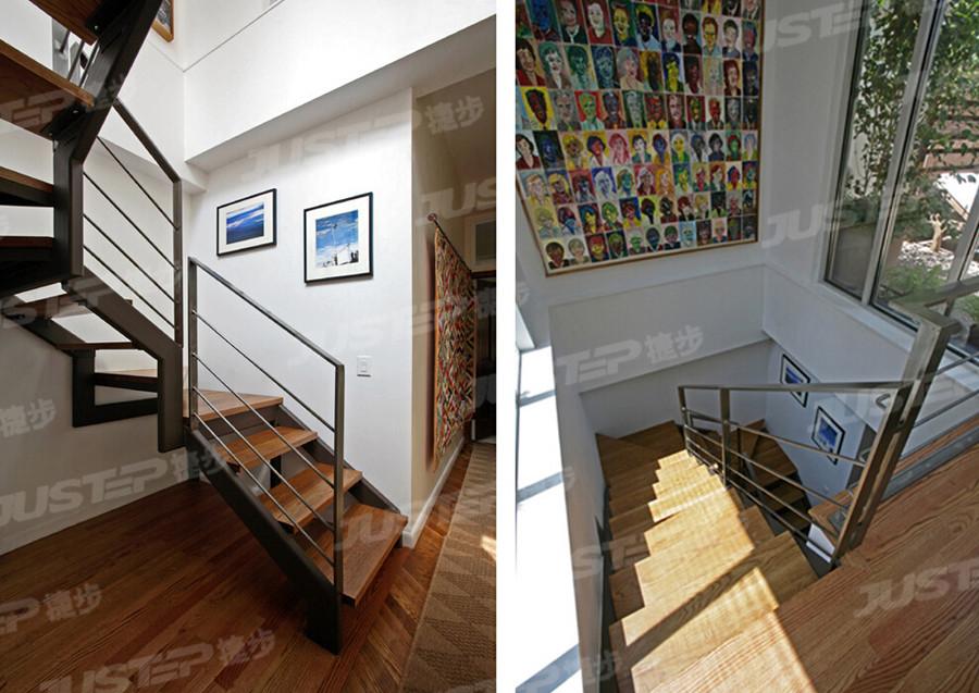 欧式白色大理石楼梯踏步效果图