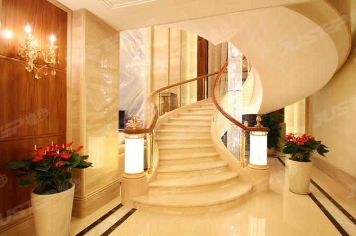 欧式大理石楼梯