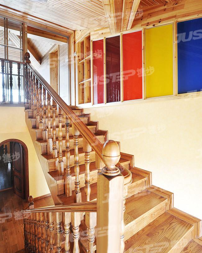 美式大理石楼梯